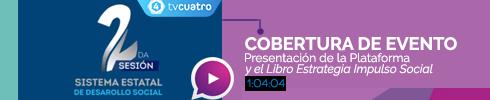 Video 2a. Sesión del Sistema Estatal de Desarrollo Social
